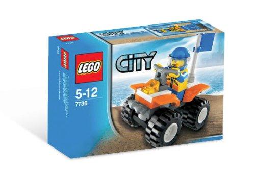 LEGO City-7736 Coast Guard Quad Bike