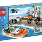 LEGO City-7726 Coast Guard Truck with Speedboat