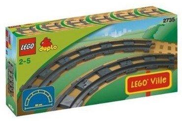 LEGO Dulpo-2735 Curved Rails