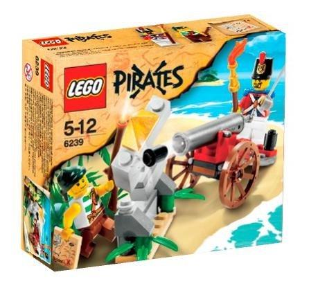 LEGO Pirates-6239 Cannon Battle