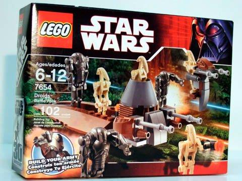 LEGO Star Wars-7654 Droids Battle Pack