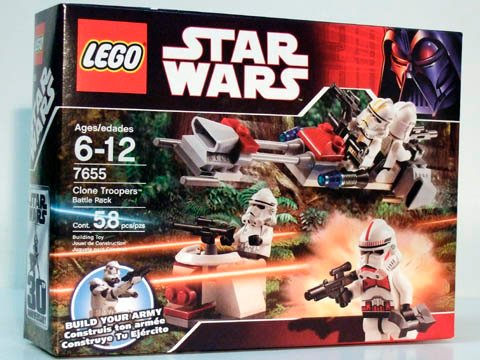 LEGO Star Wars-7655 Clone Troopers Battle Pack