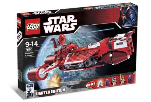 LEGO Star Wars-7665 Republic Cruiser (Limited Edition - with R2-R7)