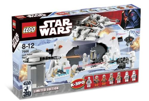 LEGO Star Wars-7666 Hoth Rebel Base (Limited Edition - with K-3PO)