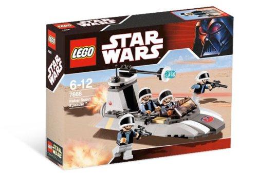 LEGO Star Wars-7668 Rebel Scout Speeder