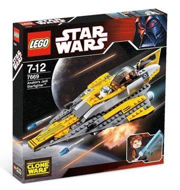 LEGO Star Wars-7669 Anakin's Jedi Starfighter