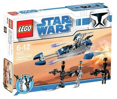 LEGO Star Wars-8015 Assassin Droids Battle Pack