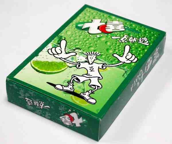 2006 Pepsi-Cola 7-UP Fido Dido's Ploy In Ploy Poker Set Limited Edition Advertising Playing Cards