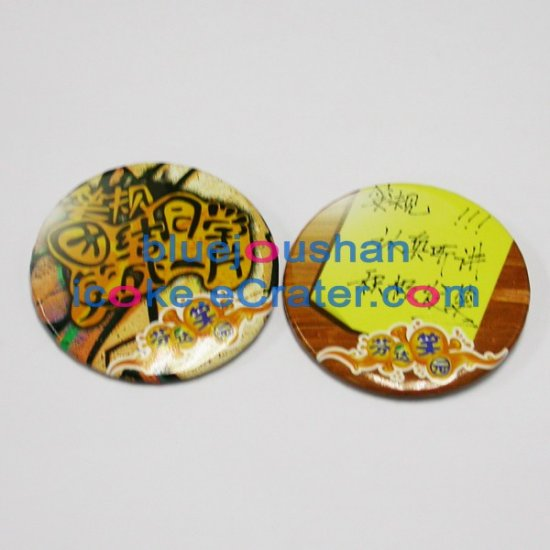 2006 Coca-Cola Coke Fanta 's Fun School 2 Pins
