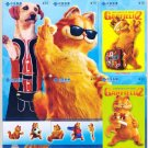 "A set of 2006 Garfield Movie "" A Tail of Two Kitties "" Puzzle Pocket Telephone Trading Cards Set"