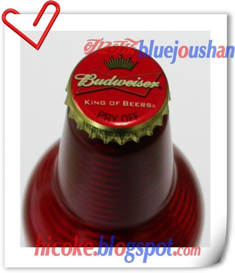 1st Budweiser Beer Aluminium Bottle in China , 473ml Test Bottle Can
