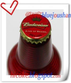 1st Budweiser Beer Aluminium Bottle in China , 473ml Test Bottle Can