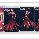 A Set of 2007 Coca-Cola Coke World of Warcraft 4 Pocket Calendar Trading Cards