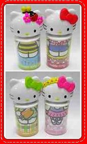 A Set of McDonalds McDonald's Limited Edition 4 Hello Kitty Pen Vase Box