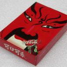 A Deck of 1986 Limited Ed Coca-Cola Coke Beijing Opera Poker Set Playing Cards
