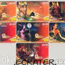 2005 COCA-COLA COKE WORLD OF WARCRAFT 7 TRADING PHONE CARDS