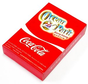 2008 HONG KONG OCEAN PARK COKE PLAYING CARDS DECK