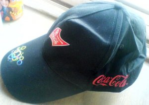 BEIJING 2008 OLYMPIC SPONSOR COCA-COLA COKE NEW HAT