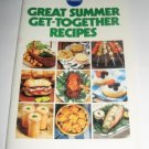Pillsbury Classic  no. 17 Great Summer Get Together recipes cookbook