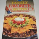 Pillsbury Classic  no.68 Family Favorite Recipes 1986
