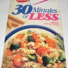 Betty Crocker 30 Minutes or Less cookbook