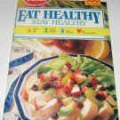 Betty Crocker Eat healthy Stay Healthy cookbook