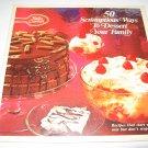 Betty Crocker 50 scrumptious ways to dessert your family cookbook