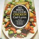 365 ways to cook chicken cookbook Carl Lyren