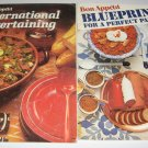 Bon Appetit International Entertaining and Blueprints for a perfect party cookbook