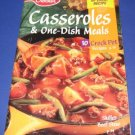 Betty Crocker Casseroles and one dish meals cookbooklet