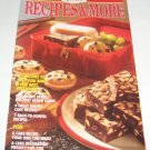 Recipes and More Duncan Hines Fall 1990 recipe booklet cookbooklet