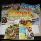 Taste of Home 3 magazines 2007 recipe booklet