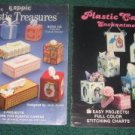 Plastic Canvas Enchantment and Plastic Treasures book 105