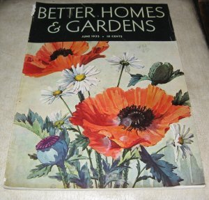 Better Homes and Gardens Magazine June 1935