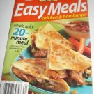 Pillsbury Easy Meals Chicken and Hamburger recipes cookbook