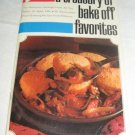 Pillsbury A treasury of bake off favorites recipes
