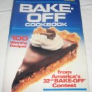 Pillsbury 32 nd Bake-off Cookbook 1986