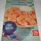 Pillsbury's 10th Grand National Bake-off Cook book Pillsbury