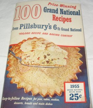 Pillsbury's 6th Grand National Cookbook 1955 Pillsbury