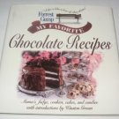 Forrest Gump: My Favorite Chocolate Recipes cookbook