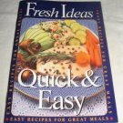 Fresh Ideas Quick and Easy recipe booklet