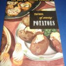 250 Ways of Serving Potatoes Recipes Number 13 cookbook