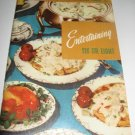 Entertaining six or eight Cookbook Number 115 recipes