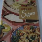 Sunday Night Suppers  Cookbook Number 119 recipes