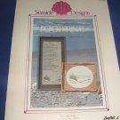 Footprints Seaside Designs cross stitch by June Berry