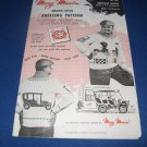 Antique Autos no 433 Mary Maxim Knitting pattern