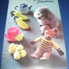 Patons Bazaar Novelties and Gifts by Beehive Knitting pattern