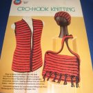 Boye Cro Hook  Knitting pattern