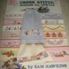Cross Stitch Designs for Towels 3503 American School of Needlework