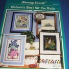 Stoney Creek Nature's best for the bath Counted Cross Stitch 183